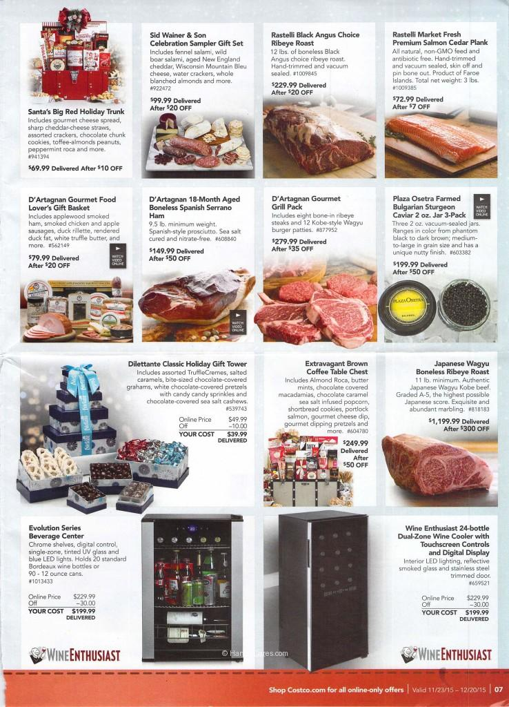 Costco December Savings Booklet | Harvey @ Costco