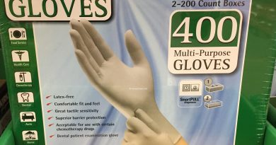 Kirkland Nitrile Exam Latex Free Disposable Gloves