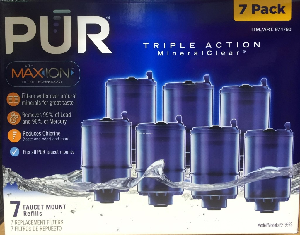Pur Maxion Faucet Mount Replacement Water Filters Harvey