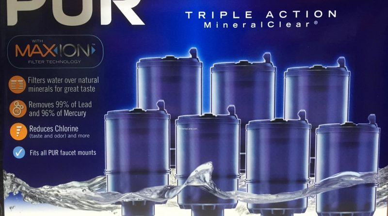 pur maxion faucet mount replacement water filters | harvey @ costco