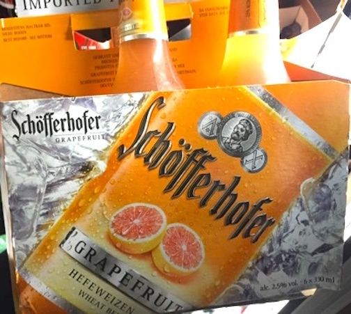 Grapefruit Beer Schofferhofer Hefeweizen