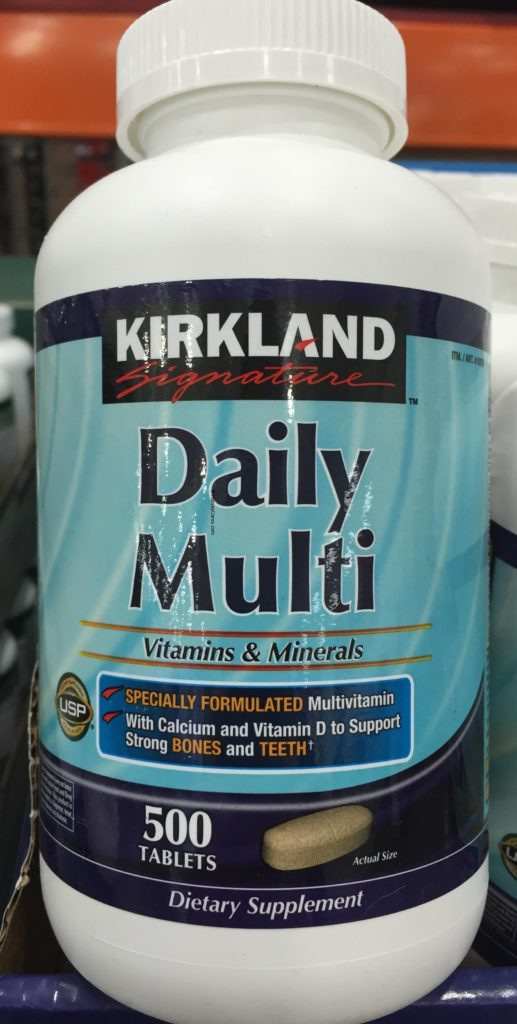 Kirkland Daily Multi Vitamins And Minerals Harvey Costco