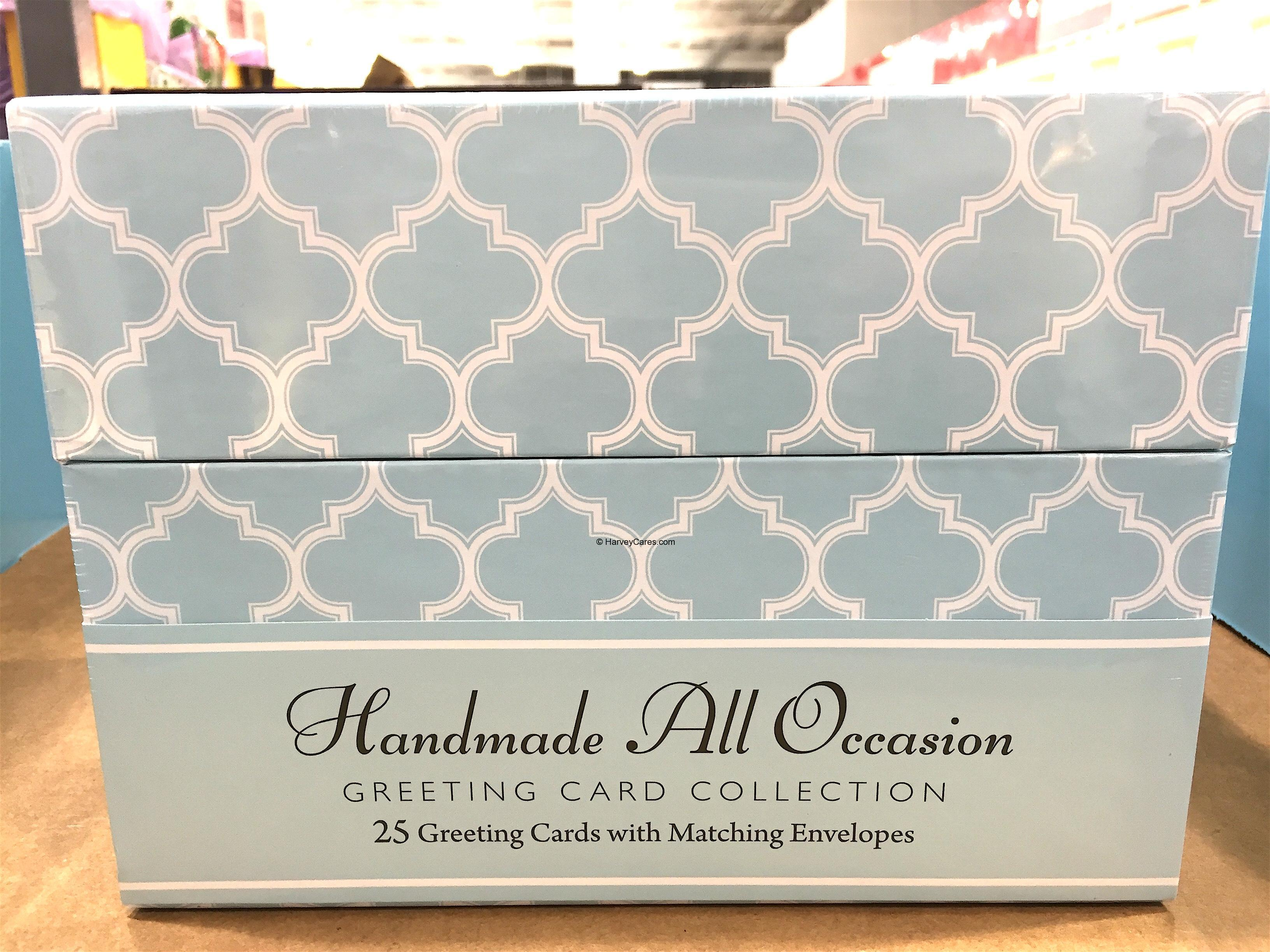 Burgoyne Hand Made All Occasion Greeting Cards Set Harvey Costco