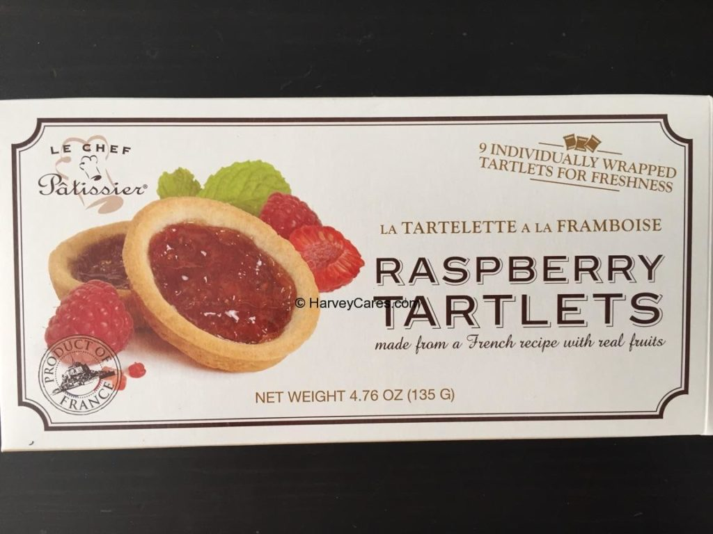 Le Chef Patissier French Raspberry Tartlets Individual Pack