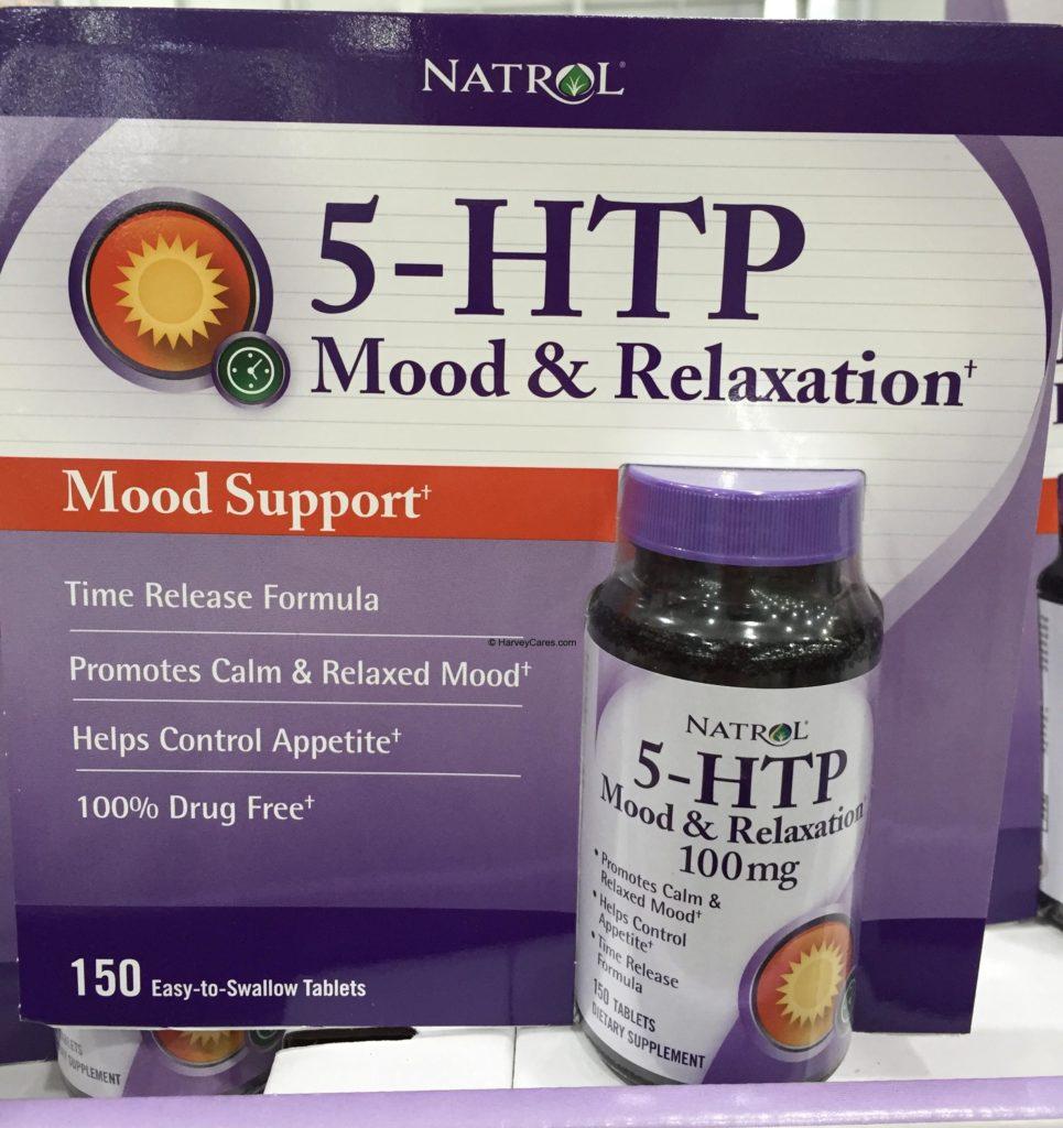 Natrol 5-HTP Mood Enhancer Support Tablets