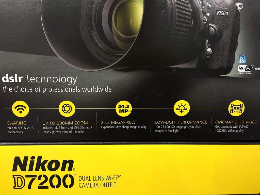 Nikon D7200 DSLR Camera Product Details and Specs