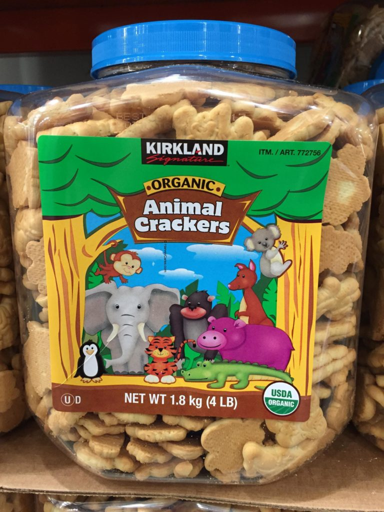 Kirkland Organic Animal Crackers | Harvey @ Costco
