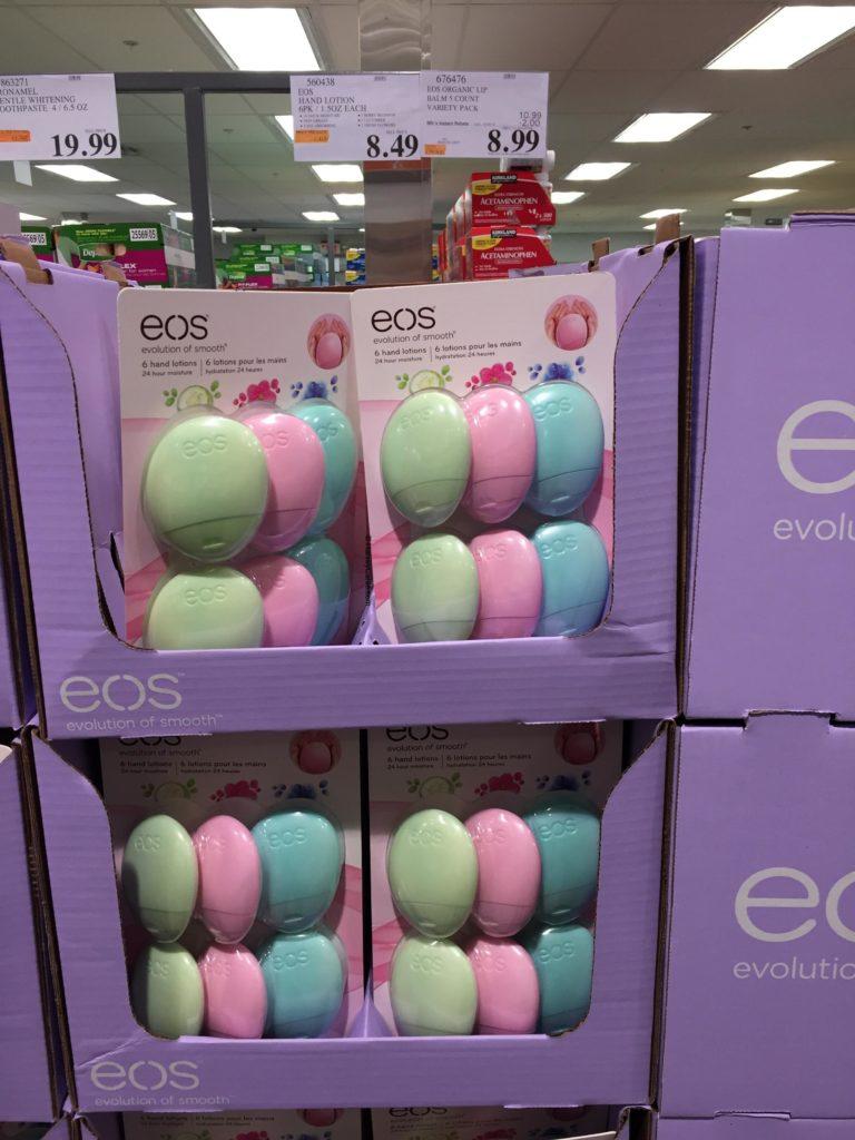 eos Travel Hand Lotion Costco Price Panel