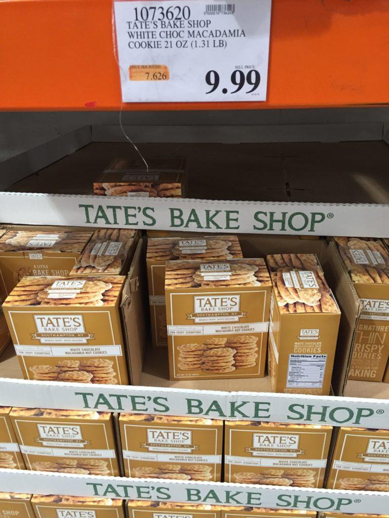 Tate S Crispy White Chocolate Macadamia Cookies Costco