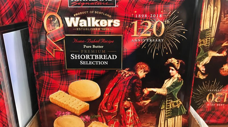 Kirkland Signature Walkers Shortbread Selection Tin