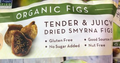 Sunny Fruit Organic Dried Smyrna Figs