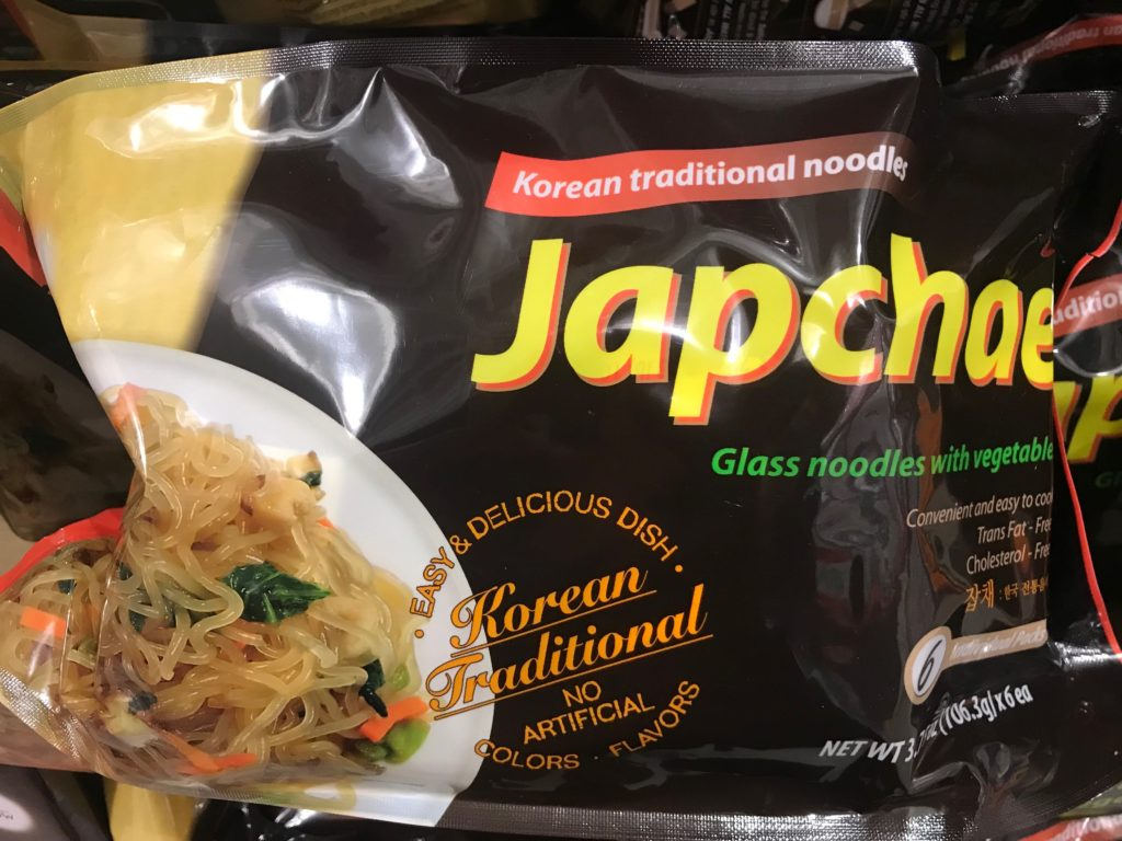 Japchae Korean Glass Noodles
