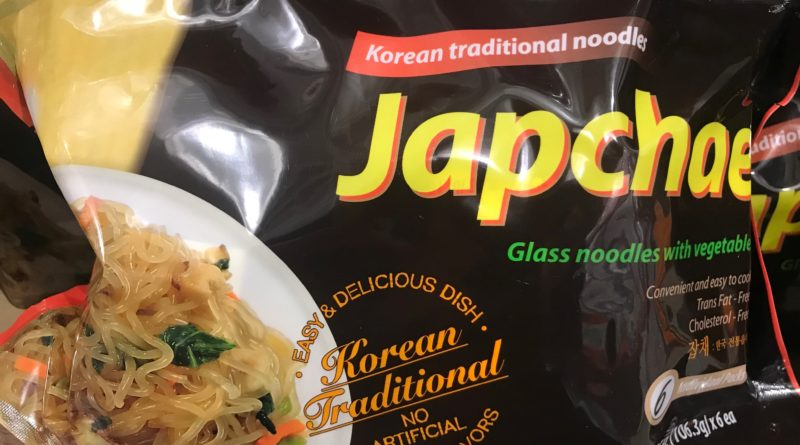 Japchae Korean Glass Noodles