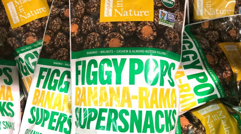 Made in Nature Figgy Pops Banana Fruit and Nut Snack
