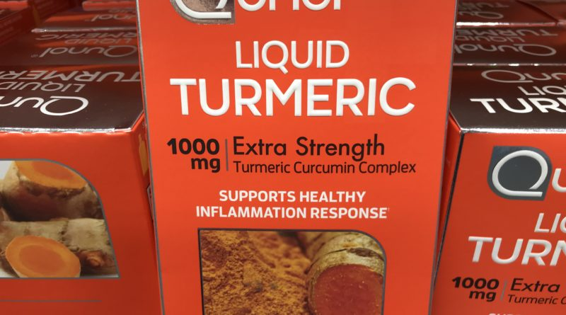 Fight Inflammation with Qunol Liquid Turmeric Curcumin