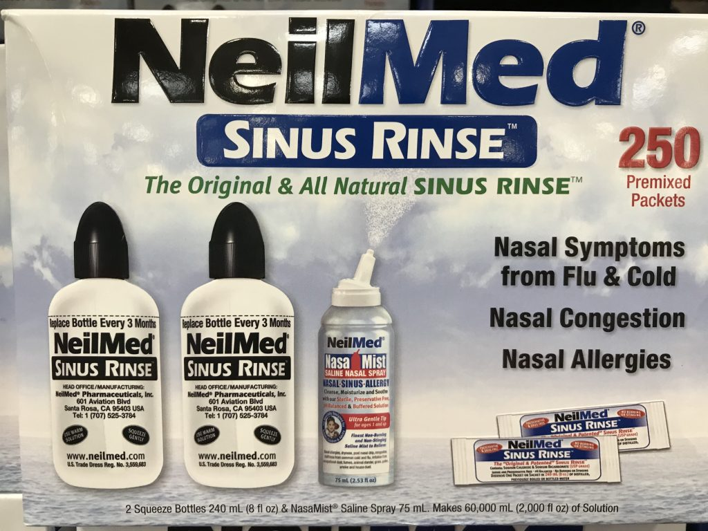 NeilMed Sinus Rinse Premixed Packets