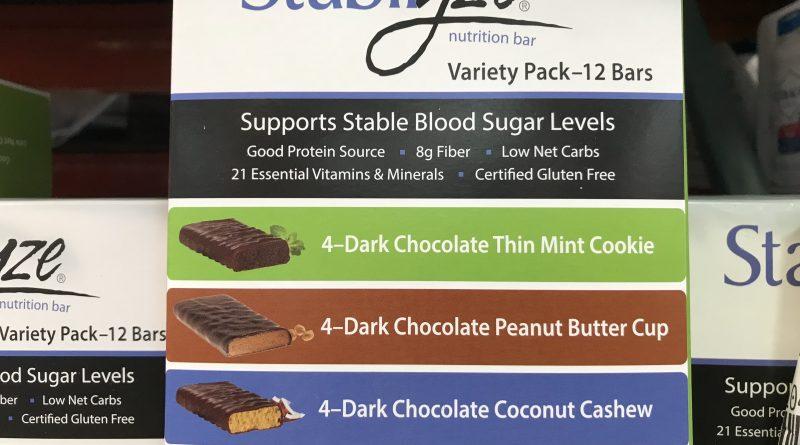 Stabilyze Low Glycemic Nutrition Bar