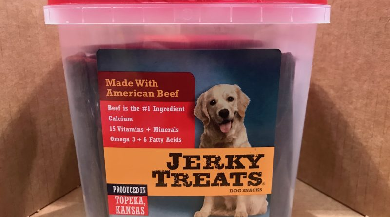 Big Heart Beef Jerky Dog Treats