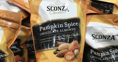 Sconza Pumpkin Spice Chocolate Almonds