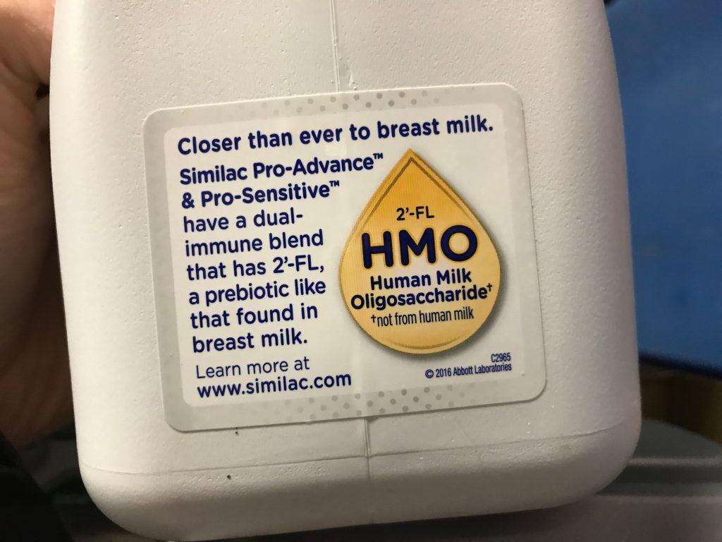 Similac Pro-Advance Infant Formula HMO Breast Milk