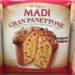 Classic Madi Gran Panettone Italian Baked Cake